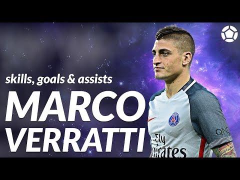 Marco Verratti ● Crazy Skills, Goals & Assists ● 2017 ● 1080p
