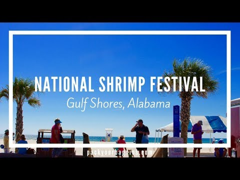 National Shrimp Festival- Gulf Shores,  Alabama