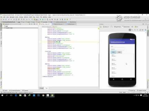 Android Veritabanı Kullanımı - Ders 2 - Veri Ekleme