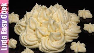 Крем ПЛОМБИР (крем ДИПЛОМАТ) нежный крем для тортов со вкусом мороженого НОВОГОДНЯЯ ВЫПЕЧКА 2019