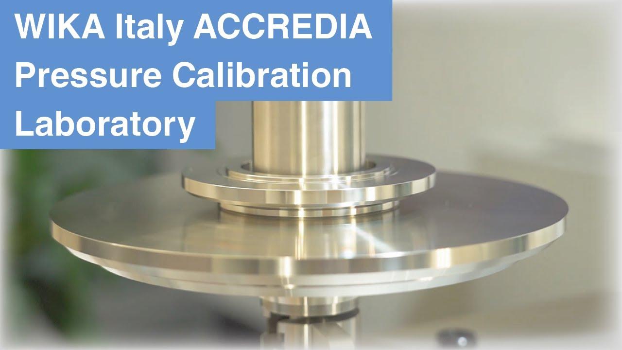 WIKA Italia ACCREDIA Pressure Calibration Laboratory - Local Unit located in Modugno (Bari)