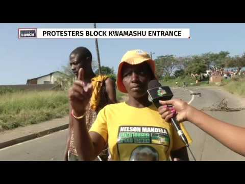 Angry protesters blockade roads in KwaMashu over ANC candidate list