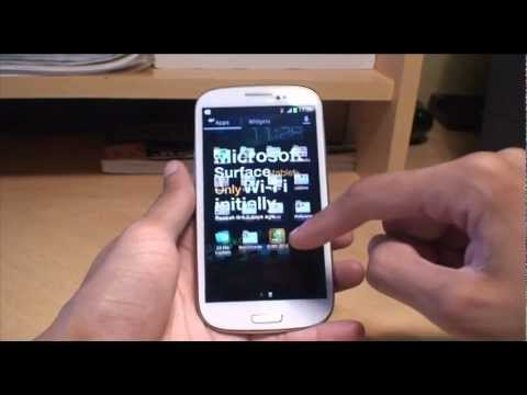 samsung galaxy s3 voicemail to text
