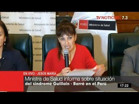 Ministerio de Salud refuerza vigilancia para enfrentar s�ndrome Guillain-Barr�