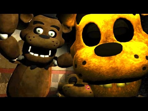 TERRIFYING GOLDEN FREDDY SECRET JUMPSCARE!   One Night at Freddy's 3D (NEW UPDATE) #1 NIGHT 3 & 4