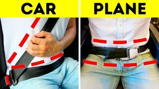 Why Airplanes Don't Have Shoulder Seat Belts But Cars Do
