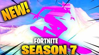 The NEW Fortnite Season 7 Battle Pass Skins and Features... (SKIING and ZIP LINING CONFIRMED)