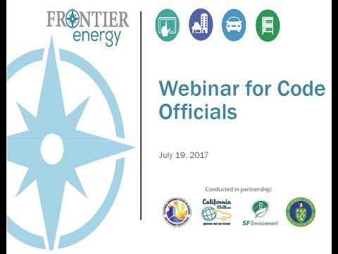 Webinar for Code Officials on Hydrogen and Fuel Cells