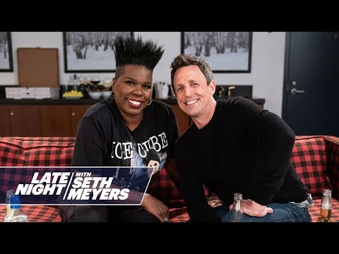 Leslie Jones and Seth Meyers watch the 'Game of Thrones' premiere and it's delightful