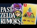 Looking At The BEST Zelda Rumors Over The Years!