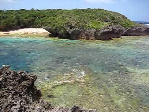 備瀬崎の透明な海