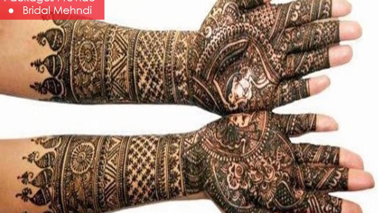 Bridal Mehndi Artist In Bangalore : Mehndi artists in bangalore weddingz youtube