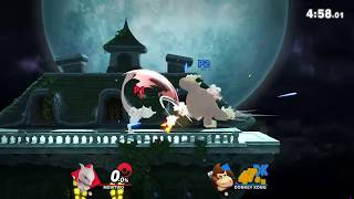 Quickplay Mewtwo vs Donkey Kong
