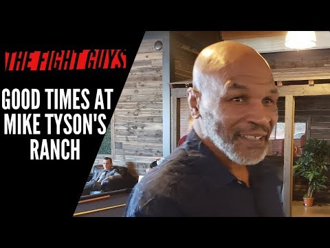 Mike Tyson's Ranch Is Fantastic