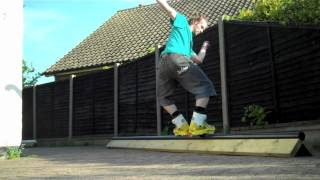 How To Make A Triangle Inline Skate Grind Box (the Best Design) 2012