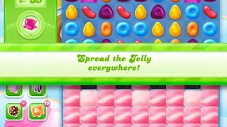 Candy Crush Jelly Saga Level 1554 (3 stars, No boosters)