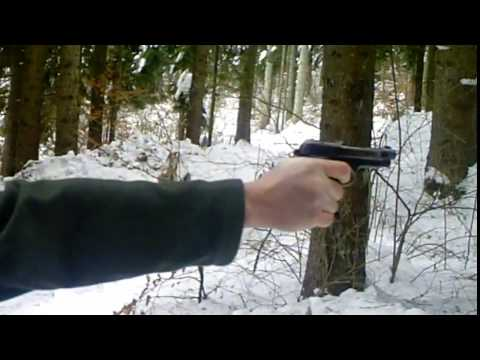 Semi-automatic Beretta M1934 Testing (9mm short)