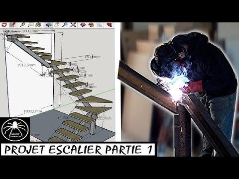►Réalisation d'un Escalier en Métal *PARTIE 1*