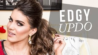 Edgy and Sexy Updo Thumbnail