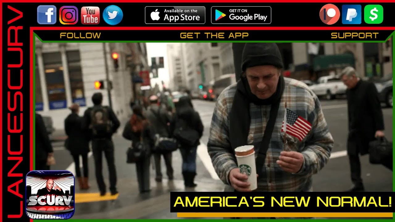 AMERICA'S NEW NORMAL! - ELLA GEE & LANCESCURV