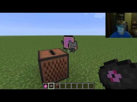 nyan cat mod minecraft showcase