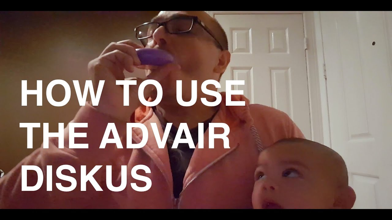 Advair Diskus How To Use It Youtube