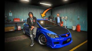 HONDA CIVIC REBORN MODIFIED ! Jimmy's New Car | GTA 5 PAKISTAN