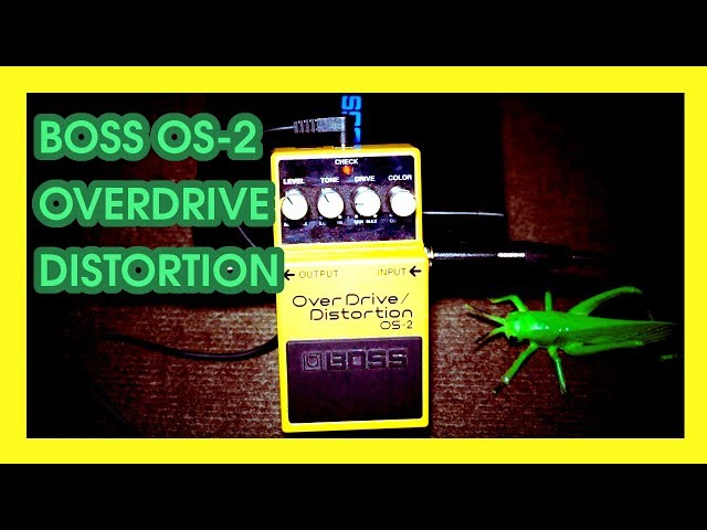 🎛 👌 DEMO pedal de distorsión BOSS OS-2 OverDrive/Distortion | Guitarra Socrática capítulo 4