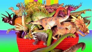 Top 10 Dinosaurs Most Deadliest and Dangerous Herbivores - Educational