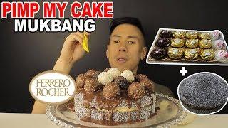 [MUKBANG] FERRERO ROCHER CAKE(CUSTOMISED)-PIMP MY CAKE!!