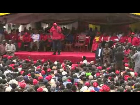 PSCU Kenya Live Stream -Bomet rally