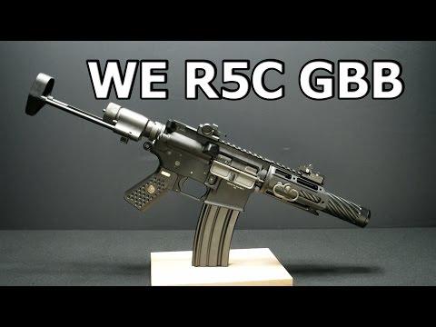 WE R5C HONEY BADGER Airsoft Review german/deutsch