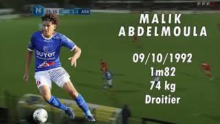 MALIK ABDELMOULA NATIONAL 1 Highlights tacle and defensive skills