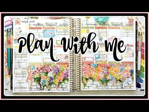 Plan With Me / Spring / Erin Condren Life Planner