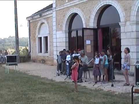 Juin 2004 CE2 Chanson Fête école