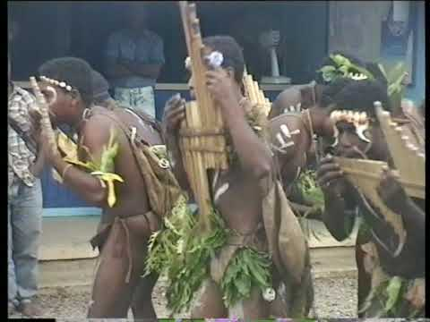Malaita, Solomon Islands: Bamboo band