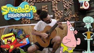 Bob Esponja Cover Tema Final Violão Fingerstyle Felipe Strozi Felps