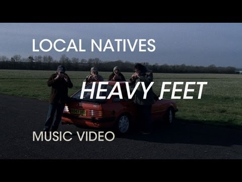Local Natives Heavy Feet Artwork