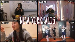 [NY Vlog] Dancing with Everglow & mukbang tour around the city