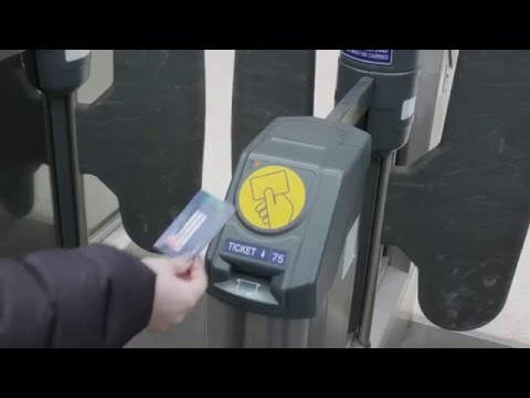 How to use Automatic Ticket Gates