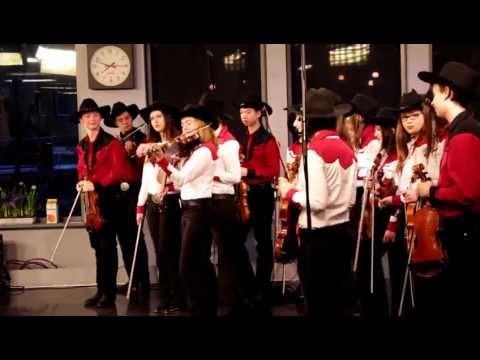 Calgary Fiddlers on Breakfast TV - Calgary