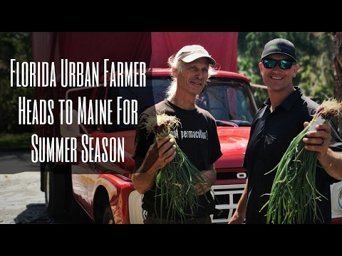 Making a Living GROWING FOOD in the North & the South with Jim Kovaleski!