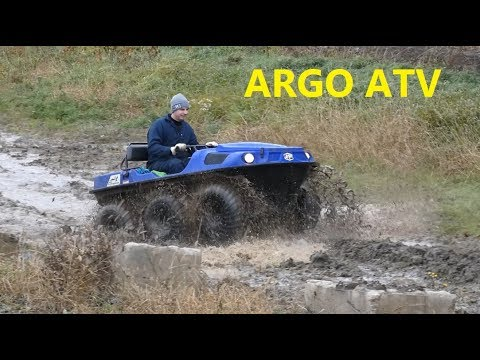 ARGO ATV Amphibious Mudding