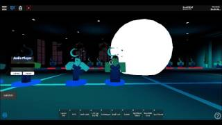 ROBLOX Verve Dance Complex - Talking To The Moon Group Routine (Bruno Mars)