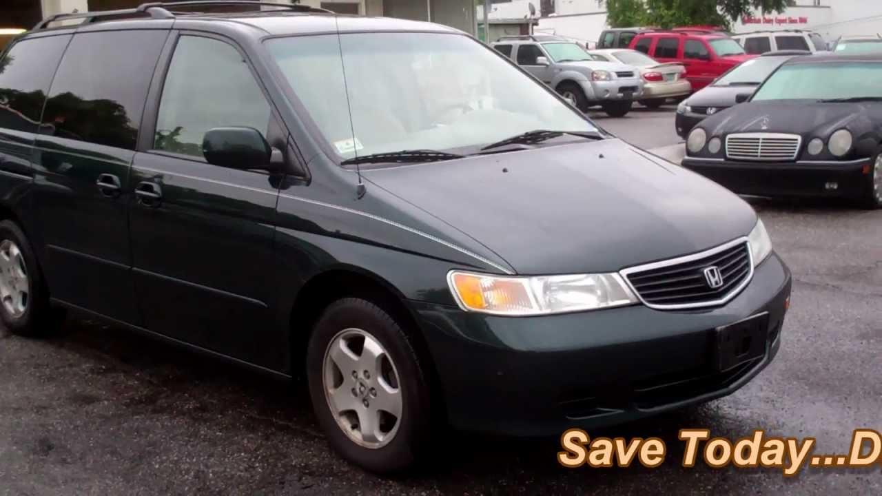 2001 Honda Odyssey EX Minivan 4D POWER SLIDING DOORS   YouTube