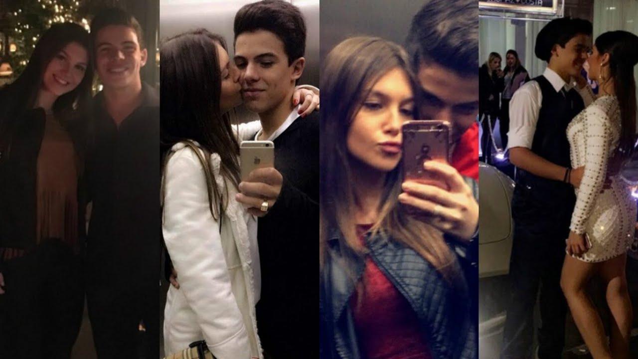 Thomaz costa est namorando conhe a sua namorada youtube for Muralha e sua namorada
