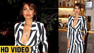 Esha Gupta's DIRTY Dress At An Event | LehrenTV