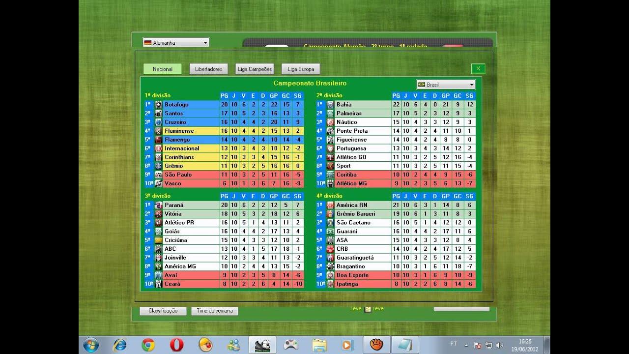 campeonatos brasfoot 2012