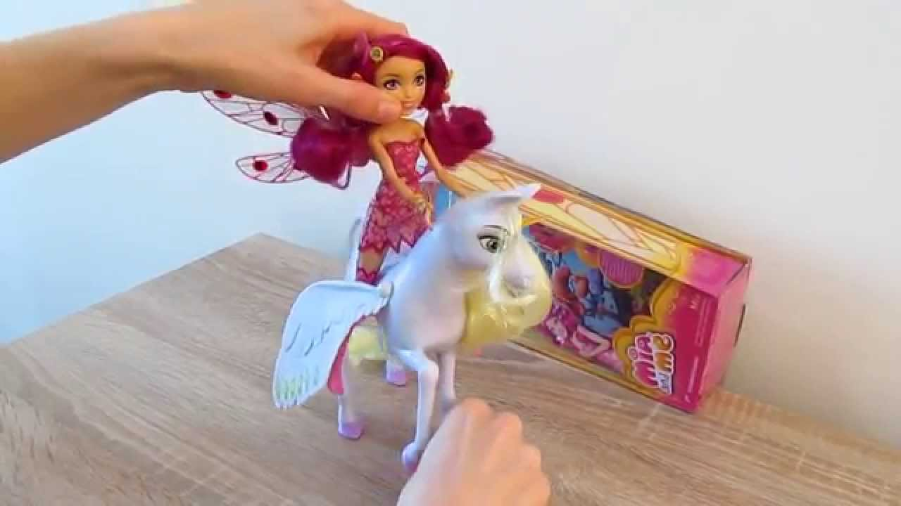 a63b02425 Mia and me with Onchao toys, doll - YouTube