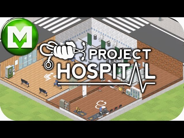 ▶Project Hospital in 4K◀ We build a Basic Clinic with the aid of the Building Tutorial
